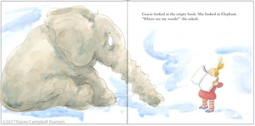 Elephant's Story by Tracey Campbell Pearson