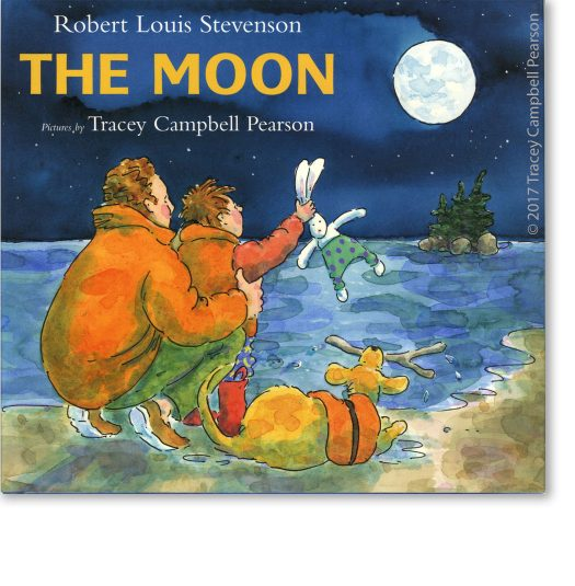 The Moon - Illustrated by Tracey Campbell Pearson / Cover