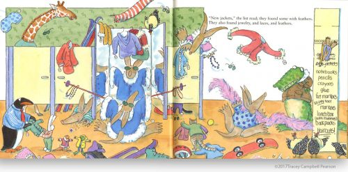 Awful-Aardvarks-Shop-for-School-illustrated-by-Tracey-Campbell-Pearson-interior-spread-2