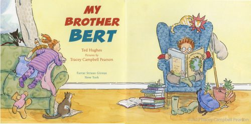 My-Brother-Bert-illustrated-by-Tracey-Campbell-Pearson-interior-spread-1