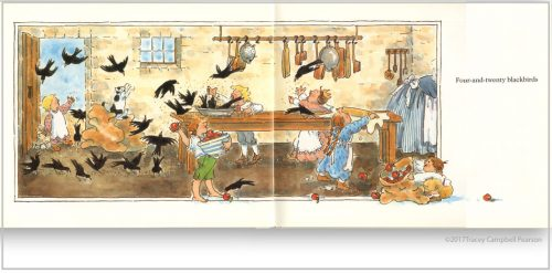 Sing-aSong-of-Sixpence-illustrated-by-Tracey-Campbell-Pearson-interior-spread