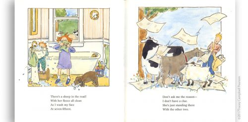 There's-a-Cow-in-the-Road-by-Tracey-Campbell-Pearson-interior-spread-2