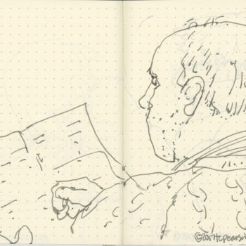 Sketchbook-Concert Sketches-Flynn-Macmaster:Leahy- byTracey Campbell Pearson 3