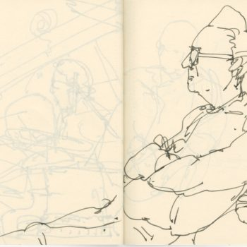 Sketchbook-Concert Sketches-Jazz-Flynn Space-Brian McCarthy- byTracey Campbell Pearson 9