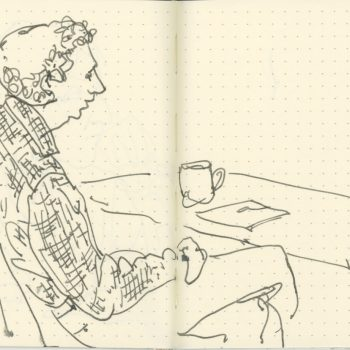 sketchbook-comic art symposium-UVM tracey campbell pearson 3