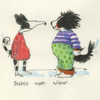 Beatrice and Wilbur-sketch