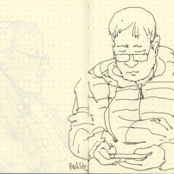 Sketchbook-Boston-Blue-Leuchtturm 1