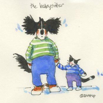 Wilbur- babysitter sketch